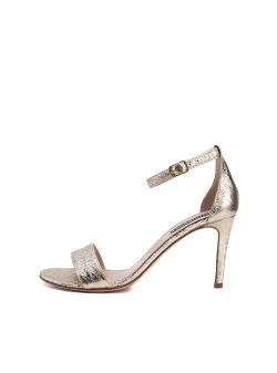 Natural Leather Gold Sandals Mara