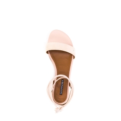 Nude Sandals With Straps Zaza