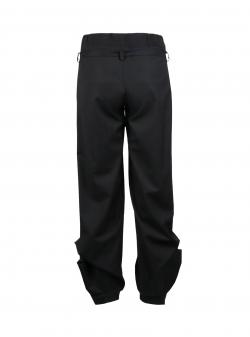 Pantaloni negri cu funda Oana Manolescu
