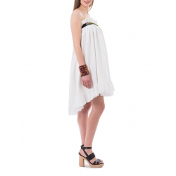 Rochie fusta alba Nicoleta Obis