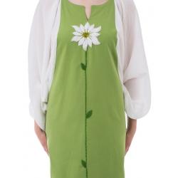 Green And White Dress Nicoleta Obis