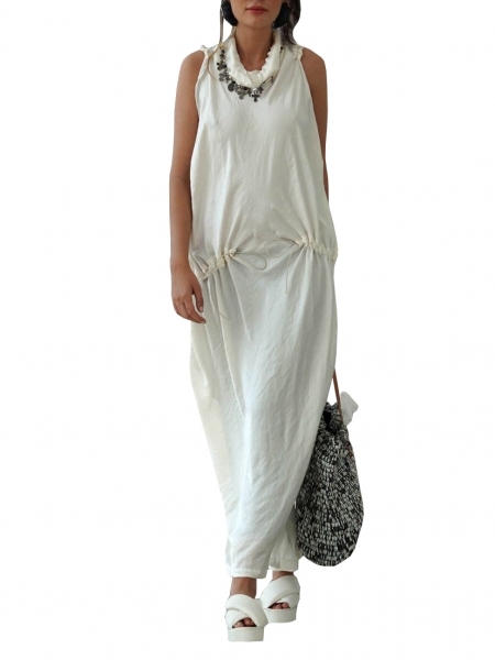 Maxi White Dress Studio Cabal