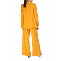 High Waist Yellow Pants Komoda