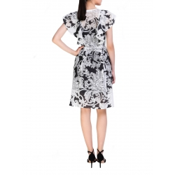 Black And White Dress Komoda