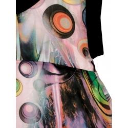Rochie oversized cu imprimeu Edita Lupea