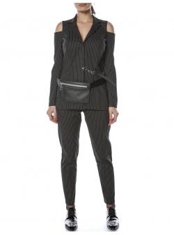 Black Cotton Jacket Entino