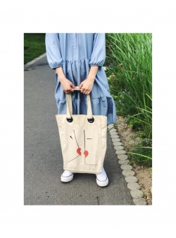 Printed Cotton Bag Ds Bags