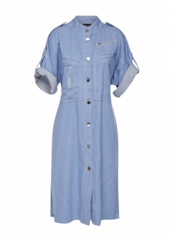 Midi denim dress AFMF