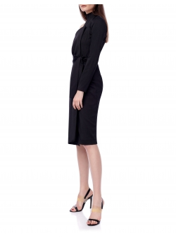 Midi Black Dress Ramelle