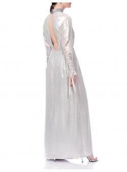 Silver Maxi Dress Ramelle