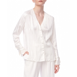 White Stripped Shirt Ramelle