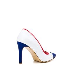 Pantofi stiletto albi Alice Ginissima