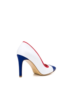 Alice White Stiletto Shoes Ginissima