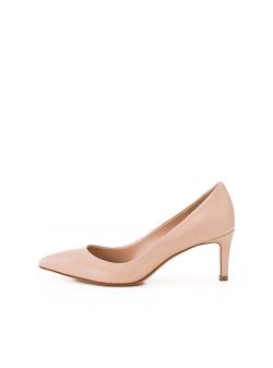 Pantofi nude din piele naturala Alice Ginissima