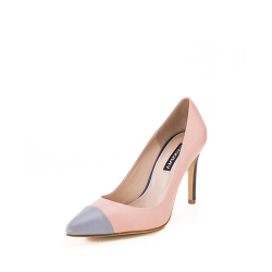 Powder Pink Stiletto Shoes Ginissima