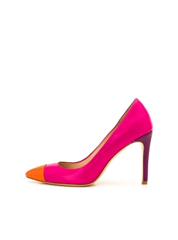 Fuchsia Stilleto Shoes Ginissima