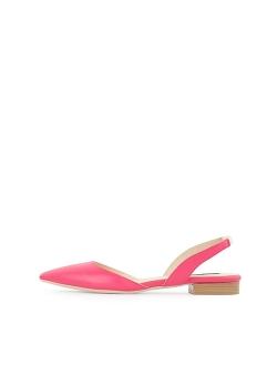 Fuchsia Flat Sandals Ginissima
