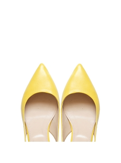 Yellow Flast Sandals Ginissima