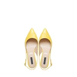 Yellow Flast Sandals Ginissima