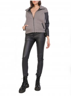 Short Sport Grey Jacket Larisa Dragna