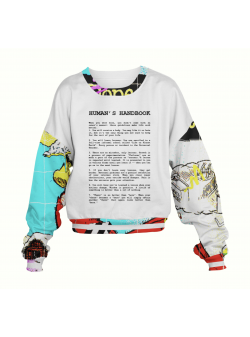 Human's Handbook Sweatshirt My Simplicated