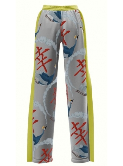 Sport Pants With Digital Print Japan My Simplicated