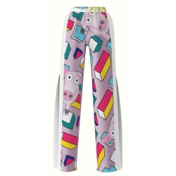 Sport Pants With Digital Print Piglets My Simplicated