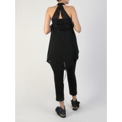 Black Veil Vest Silvia Serban