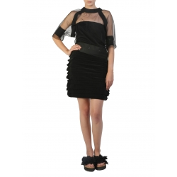 Black Short Skirt Silvia Serban