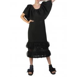 Black Multifunctional Neoprene Dress Silvia Serban