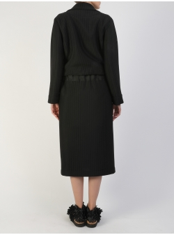 Black Modular Jacket 3 in 1 Silvia Serban