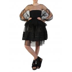 Bluza neagra din tulle Silvia Serban