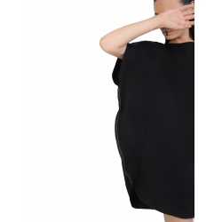 Black Top With A Relaxed Fit Butterfly ISSO
