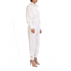 Maxi White Jumpsuit Ray ISSO