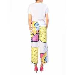 Yellow Sport Pants With Digital Print My Simplicated