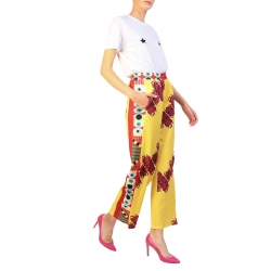 Yellow Sport Pants With Red Print My Simplicated