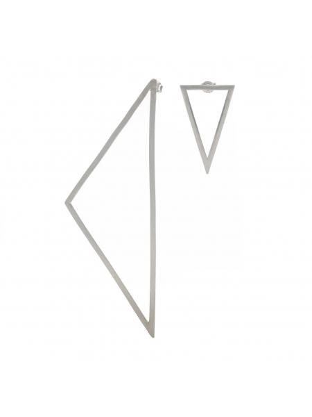 Cercei asimetrici triunghiuri Loop 2 Atelier Jamais
