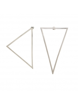 Cercei asimetrici triunghiuri Loop 3 Atelier Jamais