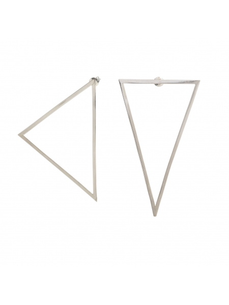 Loop 3 Traingle Earrings Atelier Jamais
