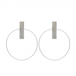 Loop 4 Minimalist Earrings Atelier Jamais