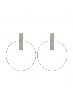 Loop 4 Minimalist Earrings Atelier Jamais