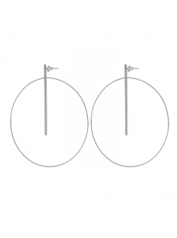 Cercei minimalisti Loop 5 Atelier Jamais