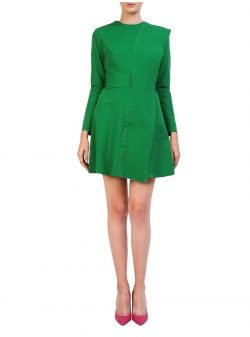 Short Dress With Long Sleeves Lizzie Komoda