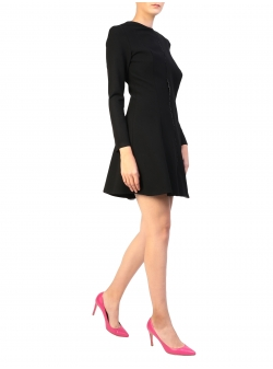 Black Short Dress Lizzie Komoda