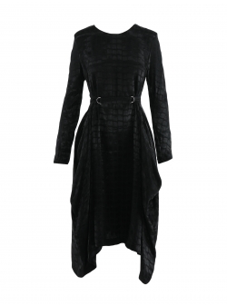 Black Retro Dress Helga Komoda