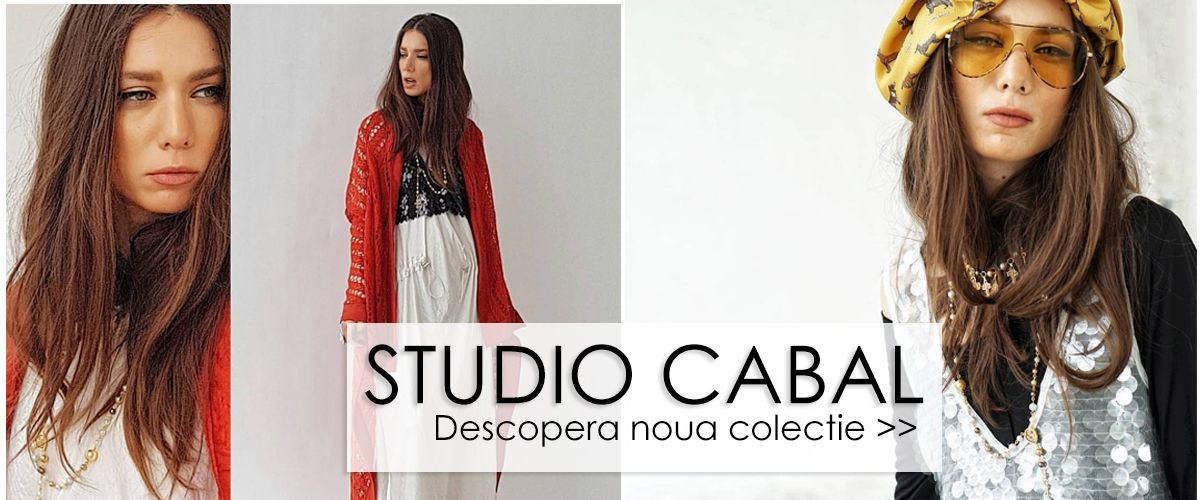 Designeri romani - Studio Cabal - Colectie noua - Primavara vara 2019