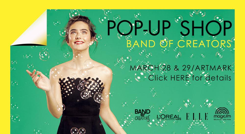 Pop-up shop martie 2015
