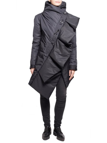 Asymmetric Black Jacket