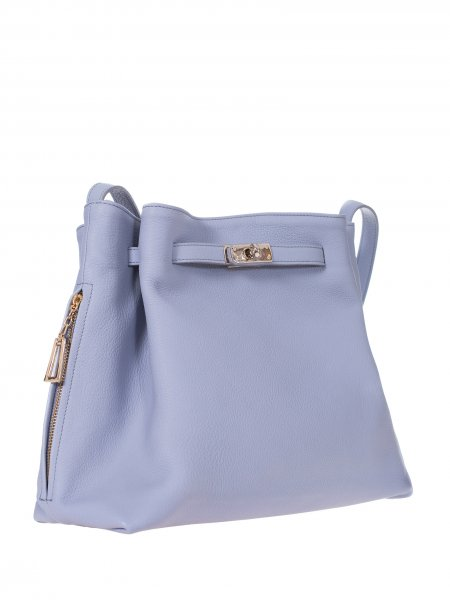 Baby Blue Handcrafted Bag