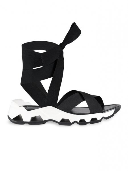 Black Casual Sandals